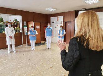 TV SEVERKA – Prezidentka navštívila nemocnicu