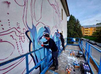V meste Martin vzniká nový mural