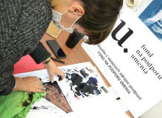 V Liptovskom kultúrnom stredisku sa uskutočnil workshop Alternatívne experimentálne výtvarné postupy