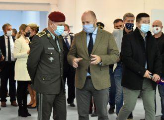 ÚVN v Ružomberku otvorila pavilón pre pacientov s koronavírusom