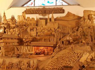 Vzácne dielo majstra Pekaru: Betlehem v Rajeckej Lesnej