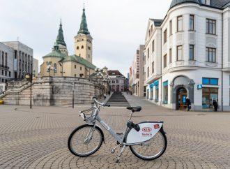 Pri využívaní bikesharingu v Žiline začali platiť nové obchodné podmienky
