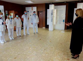 Univerzitnú nemocnicu v Martine navštívila prezidentka Zuzana Čaputová