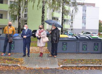 V Martine pribudli tri nové stojiská na polopodzemné kontajnery