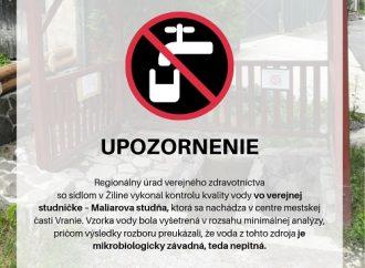 TV SEVERKA – Nie je pitná!