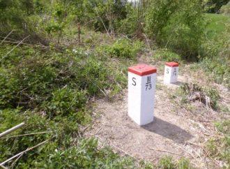 Čistenie hraničného pruhu na štátnych hraniciach v katastri obce Svrčinovec