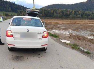 Vodič cestou do Žiliny prekročil rýchlosť o 61 km/h