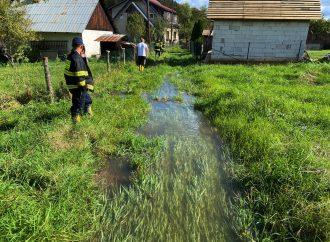 Gajdicovský potok opäť zaplavil záhrady