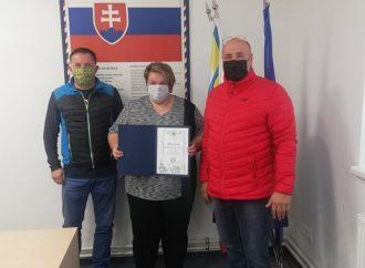 Primátorka Trstenej Magdaléna Zmrazláková sa poďakovala členom Oravského záchranného systému