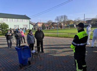 FOTO: Do celoplošného testovania sa zapojili aj dobrovoľní hasiči z DHZ Krasňany