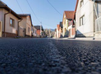 Počas víkendu bola úspešne zrekonštruovaná cesta Kalvárska/Cintorínska v Ružomberku