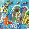 Oravské kultúrne stredisko vyhodnotilo medzinárodnú výtvarnú súťaž Vianočná pohľadnica
