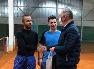 Tenisový reprezentant Slovenska trénoval v Kysuckom Novom Meste
