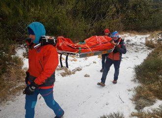 Horskí záchranári pomáhali žene, ktorá skolabovala na Veľkom Choči