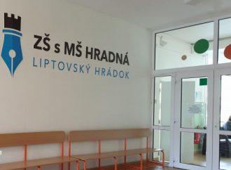 Mesto Liptovský Hrádok získalo dotáciu na vybavenie školskej jedálne
