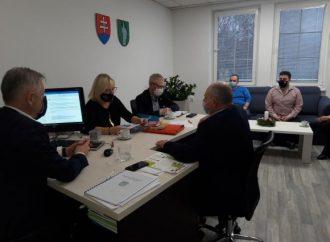 Zasadnutie krízového štábu v Kysuckom Novom Meste