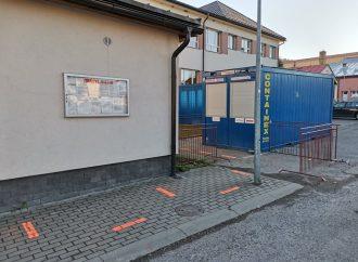 Antigénové testovacie miesto na COVID-19 v obci Skalité