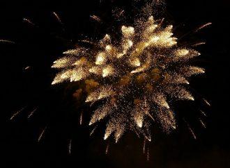 Oslavy príchodu nového roka v Žiline a novoročný ohňostroj