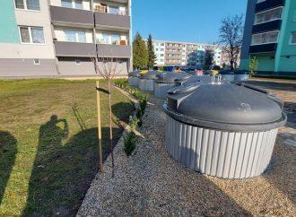 Mesto Bytča ukončilo III. etapu osadenia polopodzemných kontajnerov