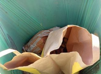 Triedenie bioodpadu v meste Bytča