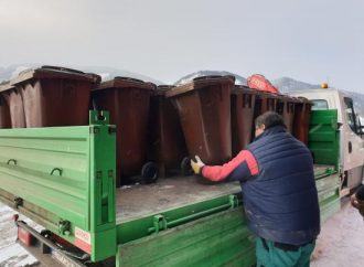 Mesto Liptovský Hrádok rozmiestnilo nádoby na biologicky rozložiteľný kuchynský odpad