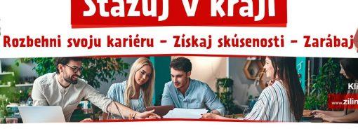 Predsedníčka Žilinského samosprávneho kraja pozýva študentov na stáž Úrade ŽSK