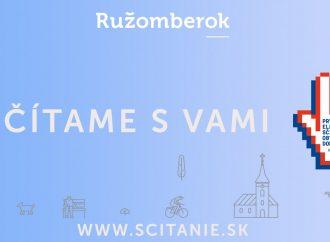Začalo sa Sčítanie obyvateľov 2021. Pre imobilných ľudí v Ružomberku budú k dispozícii služby mobilných asistento
