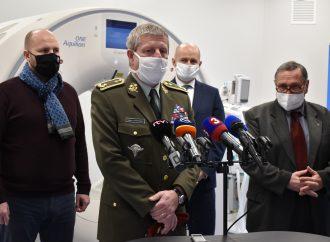 Ústredná vojenská nemocnica v Ružomberku má najmodernejšie Angio CT pracovisko v strednej Európe