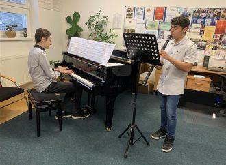 Základná umelecká škola Pavla Mudroňa je aktívna aj v čase pandémie