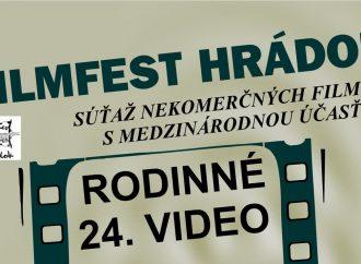 24. RODINNÉ VIDEO – FILMFEST HRÁDOK 2021
