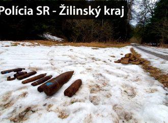 V katastri obce Likavka bola nájdená munícia z obdobia druhej svetovej vojny