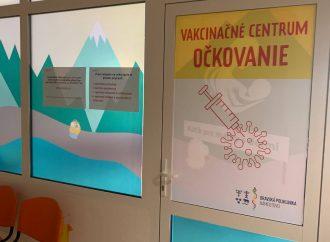 Žilinský samosprávny kraj spustil očkovanie už aj v Námestove