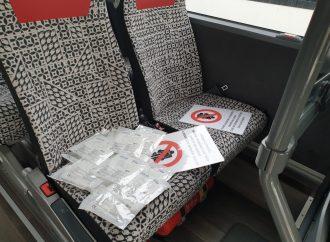 V autobusoch MAD V Ružomberku budú rozdávať respirátory