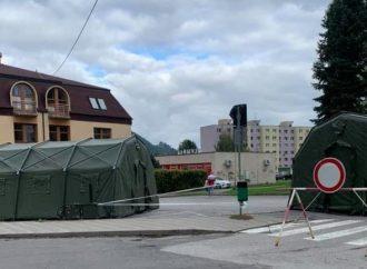 Nemocnica v Ružomberku zrušila triediace stany na vstupoch do oboch areálov nemocnice