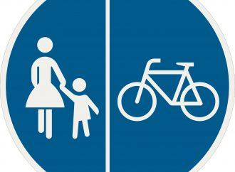 Na začiatku cyklistickej sezóny pripomína radnica v Liptovskom Mikuláši užívateľom cyklochodníka pravidlá jeho používania
