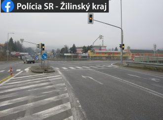 Upozornenie o vypnutí svetelnej riadenej križovatky v Žiline