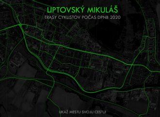 Mesto Liptovský Mikuláš získalo od organizátora súťaže Do práce na bicykli dar