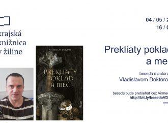 Prekliaty poklad ameč – online beseda sautorom knihy Vladislavom Doktorom