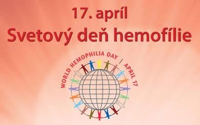 Na Svetový deň hemofílie sa mestá opäť rozsvietia na červeno