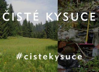 """Zapojte sa aj vy do akcie """"Čisté Kysuce"""" a pomôžte vyčistiť svoje okolie od voľne pohodeného odpadu v prírode"""