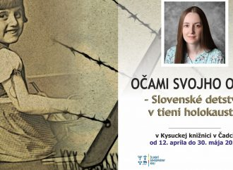 Výstava Očami svojho otca – Slovenské detstvo v tieni holokaustu