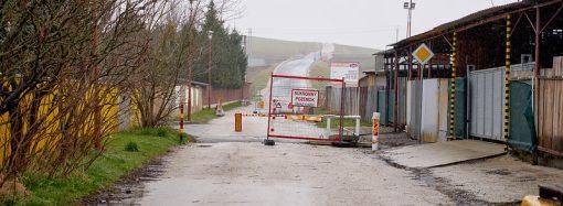 Odstránenie zábran na pozemnej komunikácii Do Rosiny