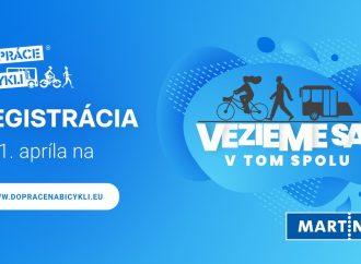 Do súťaže Do práce na bicykli sa zapojí aj mesto Martin. Organizátori pripravili viacero noviniek