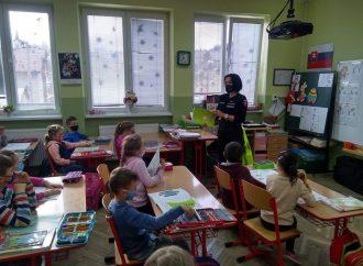 Prváčikov Základnej školy v Závažnej Porube navštívila preventistka z Liptovského Mikuláša