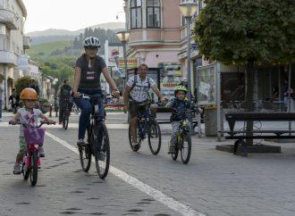 Pešia zóna vRužomberku bude otvorená pre cyklistov