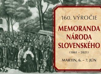 Memorandum národa slovenského ako kľúčový dokument Slovákov oslávi 160 rokov