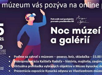 Noc múzeí a galérií s Kysuckým múzeom. Nebude chýbať online program, večerné prehliadky, ale aj jazdy vláčikom