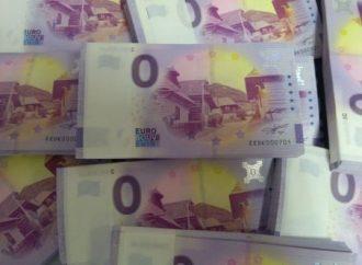 Už aj Vlkolínec má svoju nulovú eurobankovku