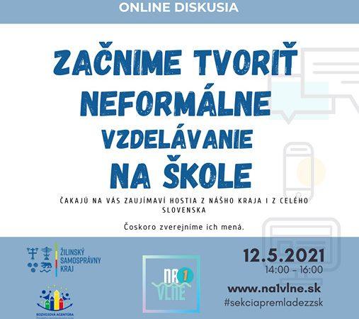 Sekcia pre mládež ŽSK pozýva na diskusiu o neformálnom vzdelávaní