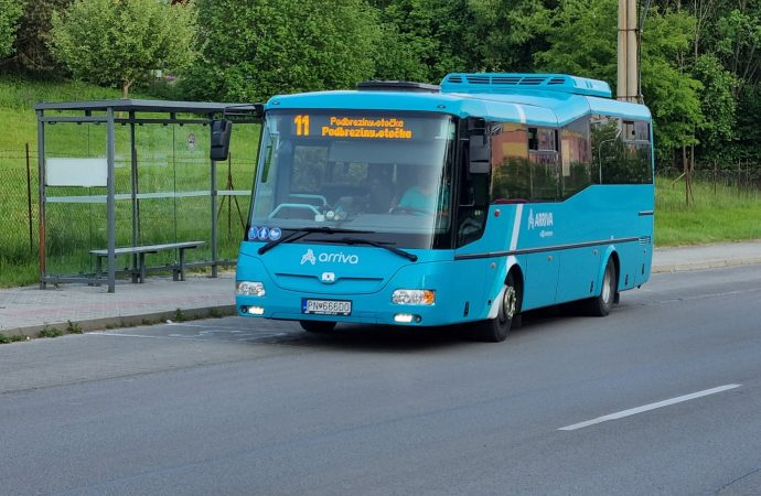 Zmeny cestovných poriadkov v mestskej doprave v Liptovskom Mikuláši majú za cieľ lepšiu nadväznosť na prestupy k rýchlikov